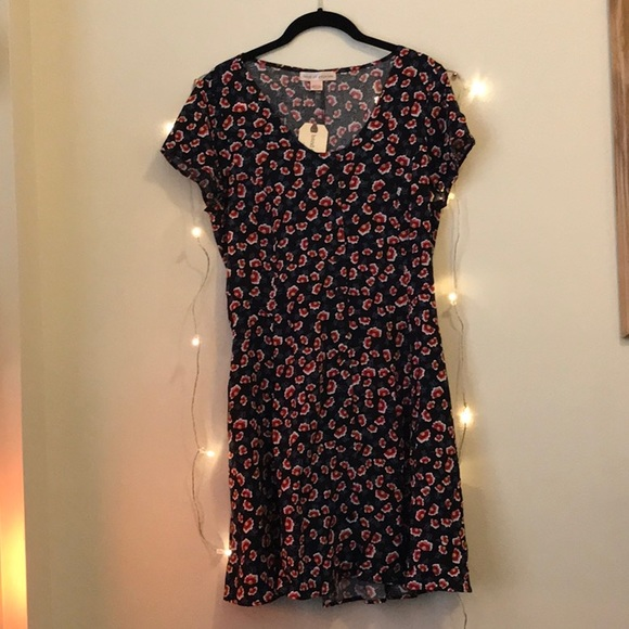 77d59aba270c Band of Gypsies Floral Button Down Dress NWT NEW